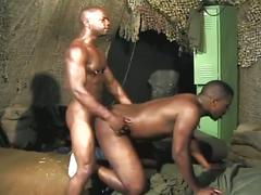 Hardcore anal collision with monster black cocks