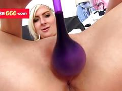 Nurse slut elis diamond medical pussy spreader show