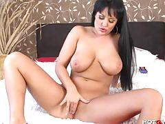 erotic, latina, hotgvibe.com, european, masturbate, solo, spanish, milf, orgasm, toys, voluptuous, curves, hd, big boobs, big tits, shaved