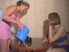 Two girls get pounded