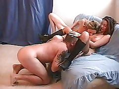 Sabrina ricci threesome & fucked in the ass doggystyle