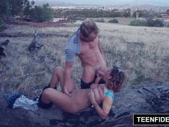 Teenfidelity keisha grey creampie adventure