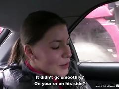 Bitch stop - skinny teen zuzana gets fucked by horny dude