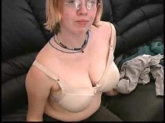 tits, boobs, amateur, busty, stripping, sara