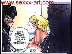 Big breast lesbian anime bdsm sex