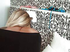Blonde kitty getting fucked from behind