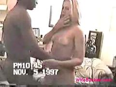 Wifes interracial night out