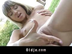 Gina gerson fucks older man