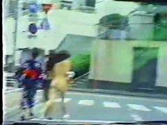 Japs in public nudity
