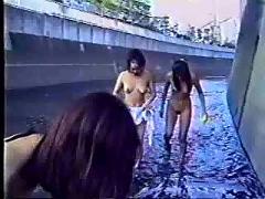 asian, flashing, public nudity