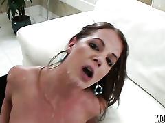 Stunning amateur college girl fucked!