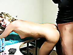 Blonde eastern european amateur gets fucked!