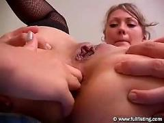 Teen european anal gaping