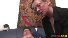 cumshot, german, mature, big tits, hardcore, facial, doggy style