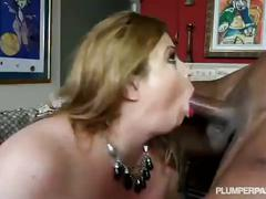 Fat white wife lives out her fantasy of fucking a black dick