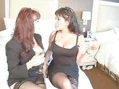 Ava devine hot milf in threesome
