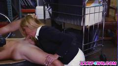 Lovely hot milf wants the pawn keepers cock