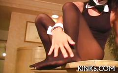 I am ready to pose in pantyhose