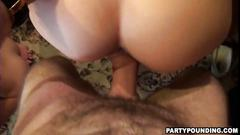 Wild party turns into an amateur orgy