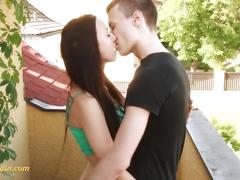 Teensensation young teen couple just 18 in love
