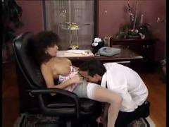 Sarah young scene20 - great office fuck with peter north- her body covered with cum- but no facial -