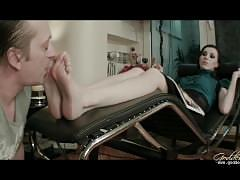 Goddess bojana foot worship 2014