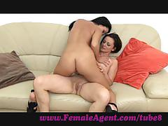 Femaleagent. tiny, sexy nymphomaniac in orgasm heaven