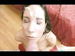 Great big huge cumshots over prety sweet faces