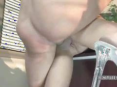 Blonde busty slut aubrey addams gets fucked
