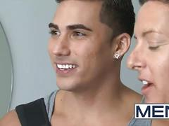 Behind the scenes with hot studs