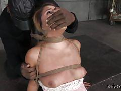 milf, bdsm, latina, vibrator, brunette, tied up, ropes, suffocation, duct tape, bastonnade, bag on head, hard tied, jack hammer, liv aguilera