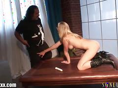 Sunlustxxx ron jeremy's new job: hardcore janitor