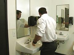 Hot tranny asshole in the bathroom @ tranny glory hole surprise #03