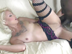Horny slut coco velvett gets her wet pussy filled with cum