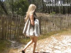Real amateur teen casting