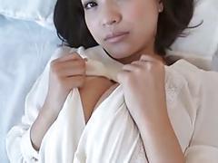 Asuka kishi bed room - non nude