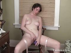 masturbation, amateur, big tits, hairy pussy, solo, toys, milf, big boobs, big natural tits, busty, dildo, homemade, masturbating, mom, naked, posing, teasing