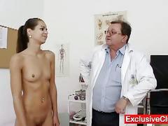 Petite latina ferrara gomez pussy checkup up