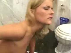 Young slave girl takes a monster cock