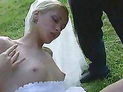Groupsex - blonde wedding