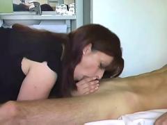 Mom and son make a porno