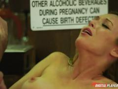 Kayden kross gets banged in the dinner