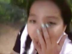 Jap piss outdoor