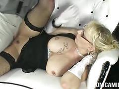 Monicamilf in a classic 30's porn video - norsk porno