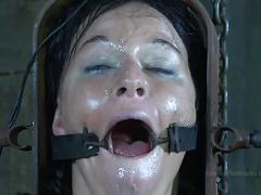 gag, bdsm, outdoors, slave, pain, farm, clamp, insex, device, strappado, orgasm-denial, predicament, claustrophobia
