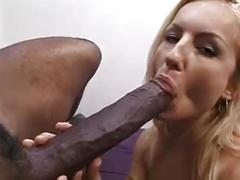 Hot czech girl gets an interracial fuck