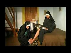 Couple of hot horny nuns!