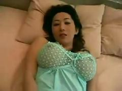 Very busty asian pov