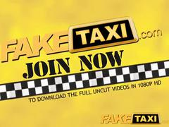 Faketaxi black haired babe loves taxi driver cock