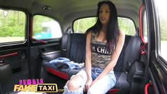 Female fake taxi amateur actress licks and fingers busty blondes wet pussy